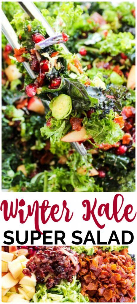 Winter Kale pinterest image