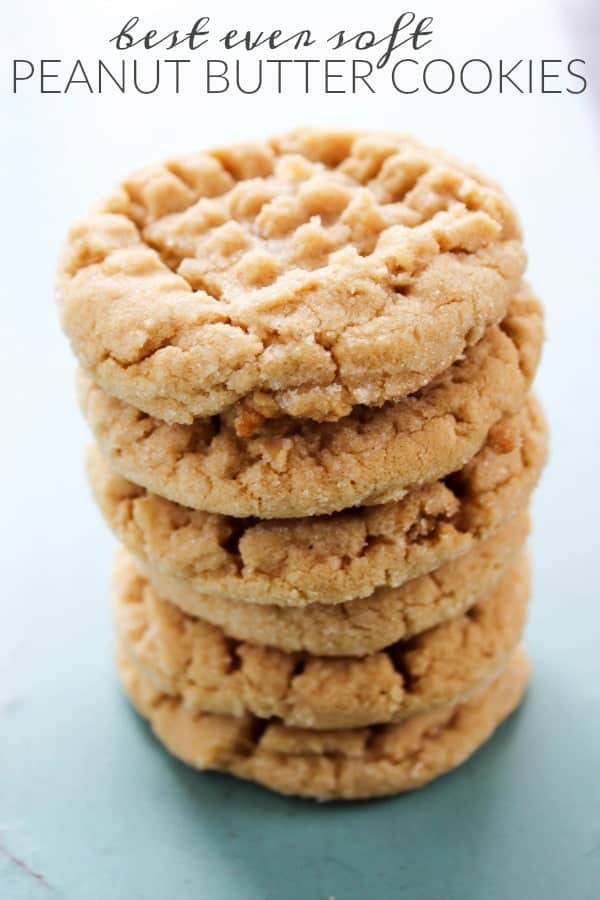 Best Ever Soft Peanut Butter Cookies A Dash Of Sanity