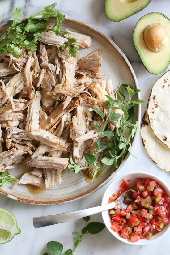 Instant Pot Garlicky Cuban Pork