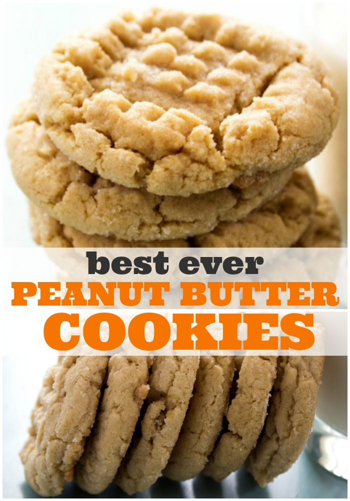BEST EVER SOFT PEANUT BUTTER COOKIESare a classic soft & chewy peanut butter cookies have quickly become our favorite sweet treat.
