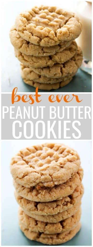 peanut butter cookies, peanut butter, soft peanut butter cookies, chewy peanut butter cookies, cookie recipe