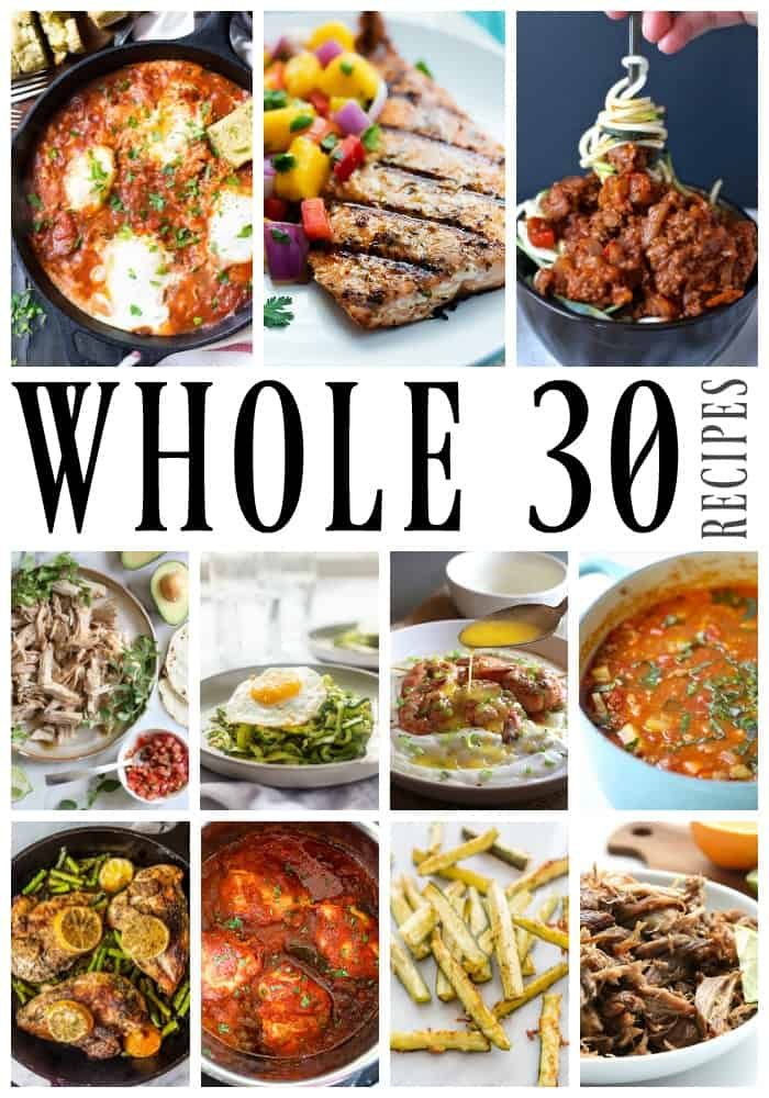 50 of the Best Whole30 Recipes - Mouthwatering dishes that range from simple to a little more intricate, all of these need to be made this year.