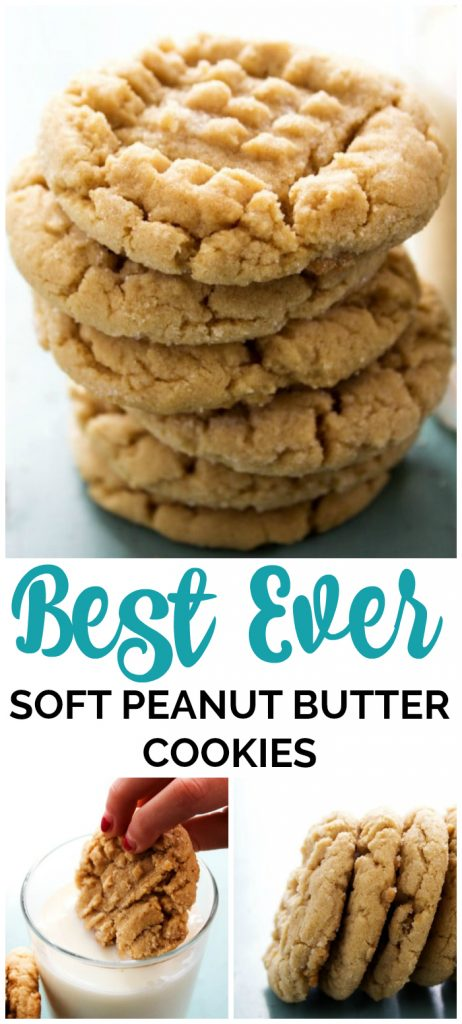 Best Ever Soft Peanut Butter Cookies are a classic. These soft & chewy peanut butter cookies have quickly become our favorite sweet treat.