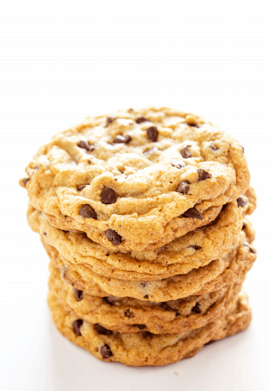 Best Ever Chewy Chocolate Chip Cookies