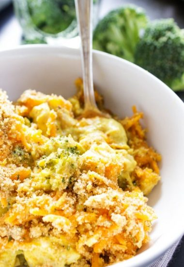Broccoli Chicken Curry Casserole