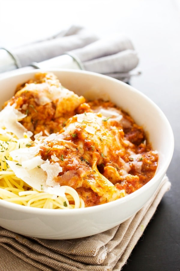 Slow Cooker Chicken Parmesan A Dash Of Sanity