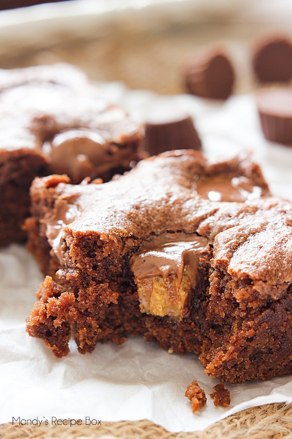 Lunch Lady Peanut Butter Brownies