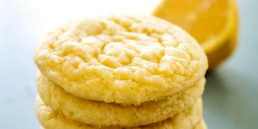Lemon Sugar Cookies A Dash Of Sanity