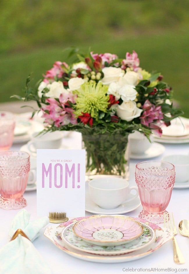 Mother's Day Brunch Table