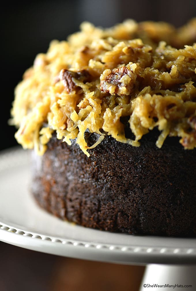 GERMAN CHOCOLATE POUND CAKE RECIPE
