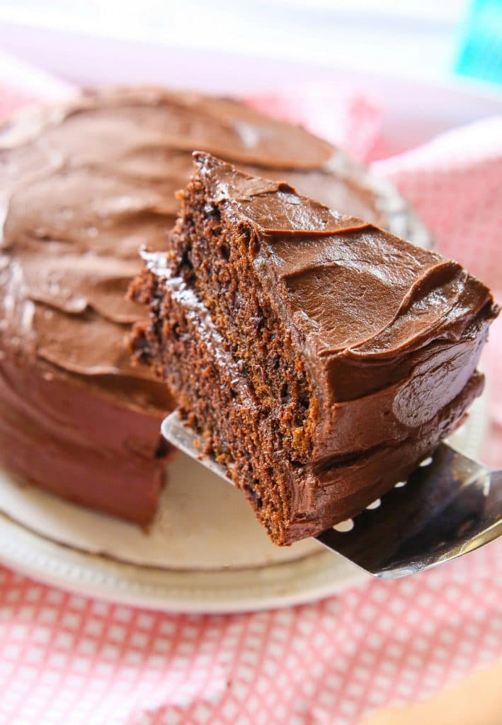 HERSHEY'S PERFECTLY CHOCOLATE CAKE