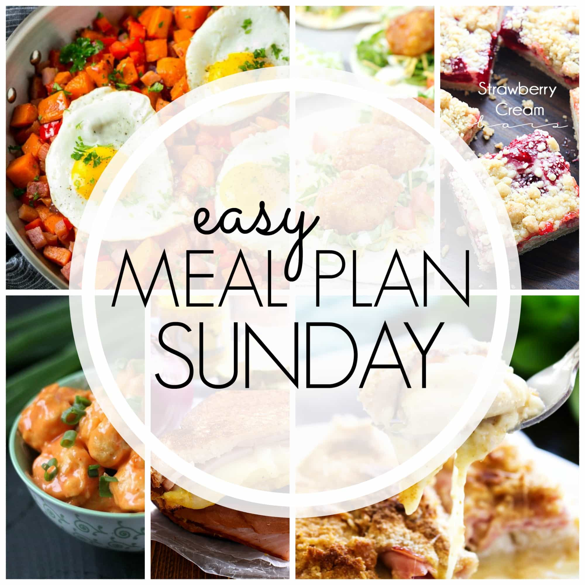 easy meal plan sunday {week 94} - a dash of sanity