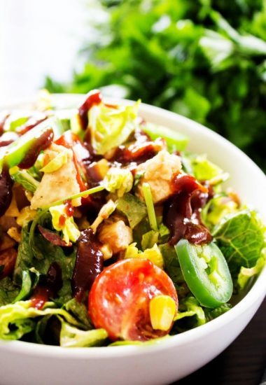 Creamy BBQ Ranch Chicken Salad