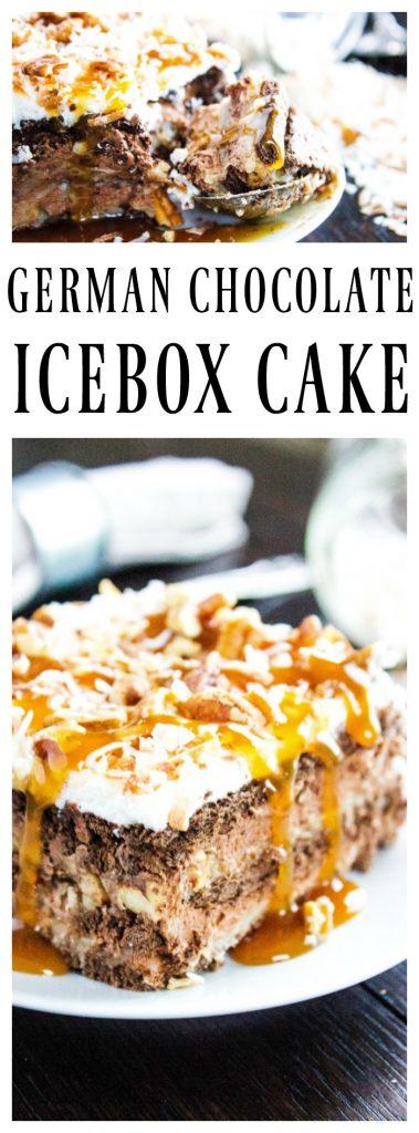 German Chocolate Icebox Cake