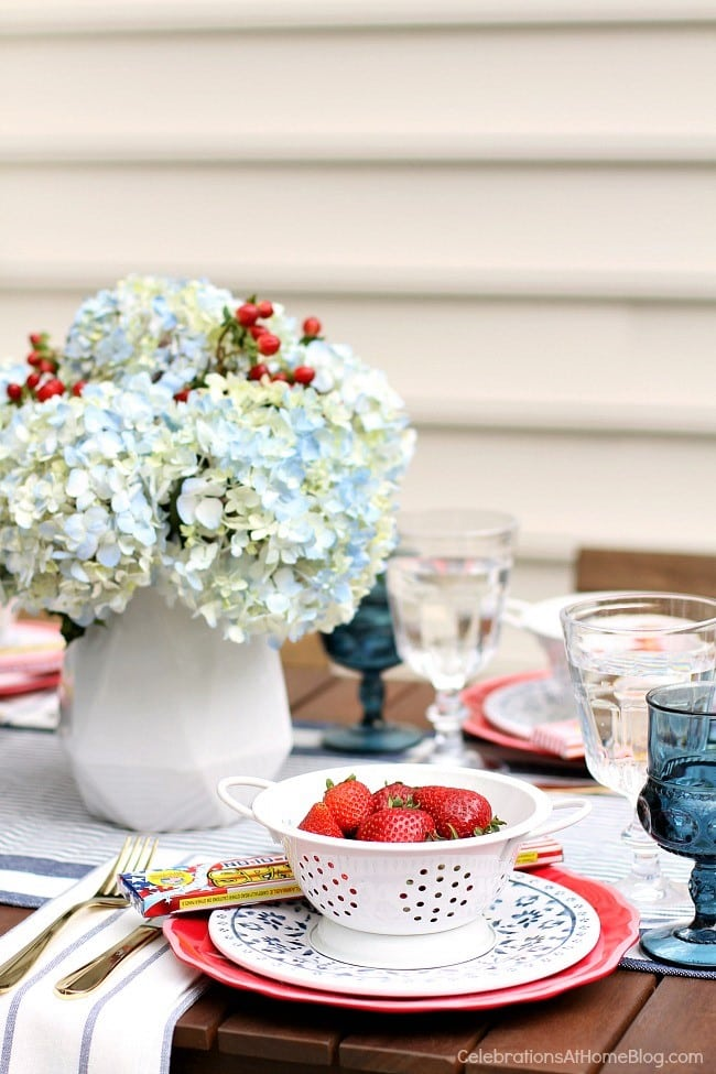 RED, WHITE & BLUE PARTY INSPIRATION