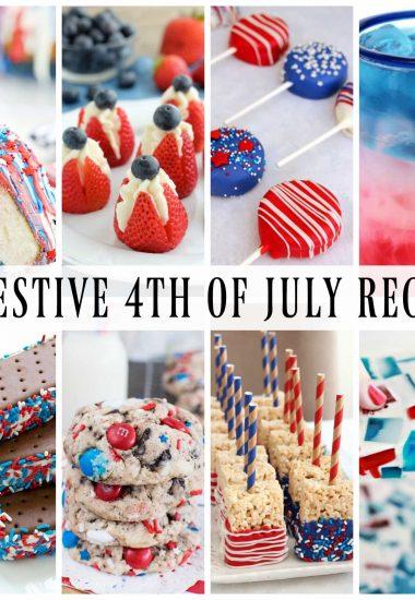 20 FESTIVE 4TH OF JULY RECIPES