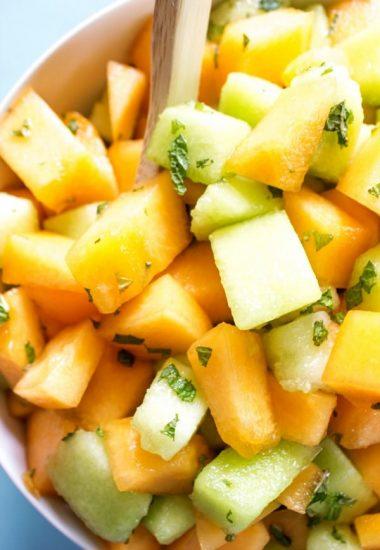 Melon & Mint Fruit Salad