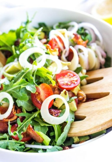 Arugula and Hearts of Palm Salad