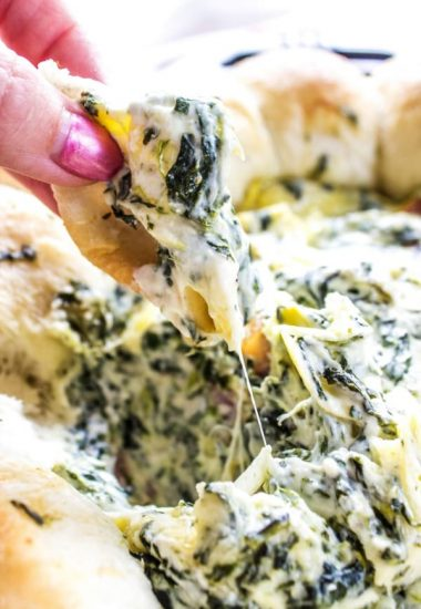 Spinach Artichoke Bacon Dip