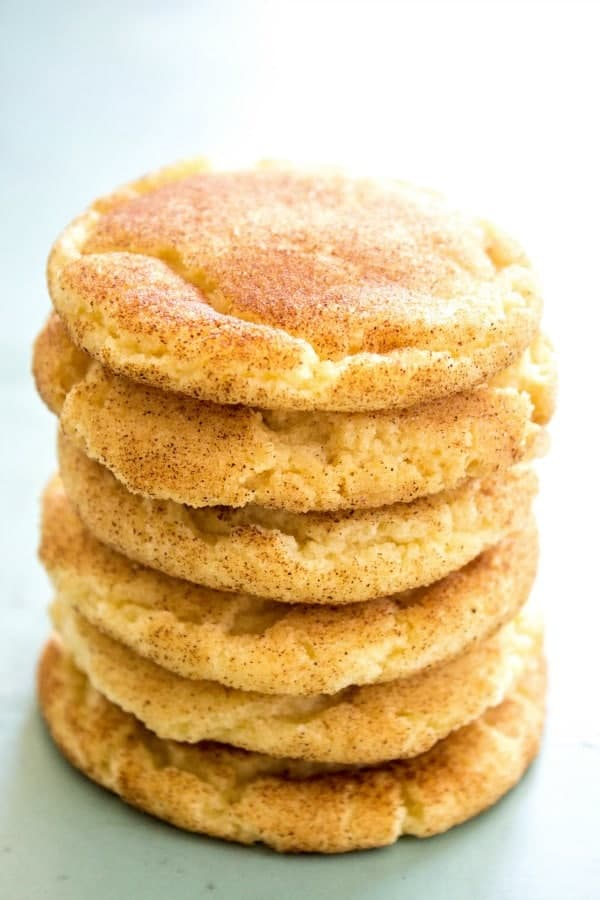 Best Ever Snickerdoodle Cookie Recipe A Dash Of Sanity
