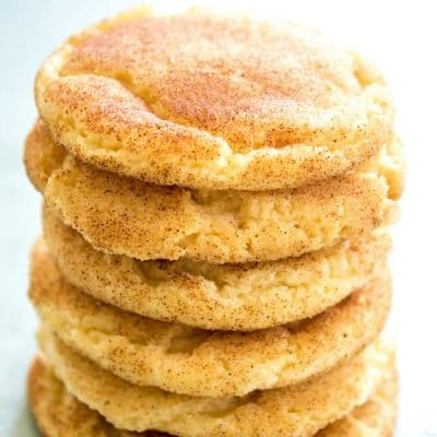 BEST EVER SNICKERDOODLE COOKIE RECIPE