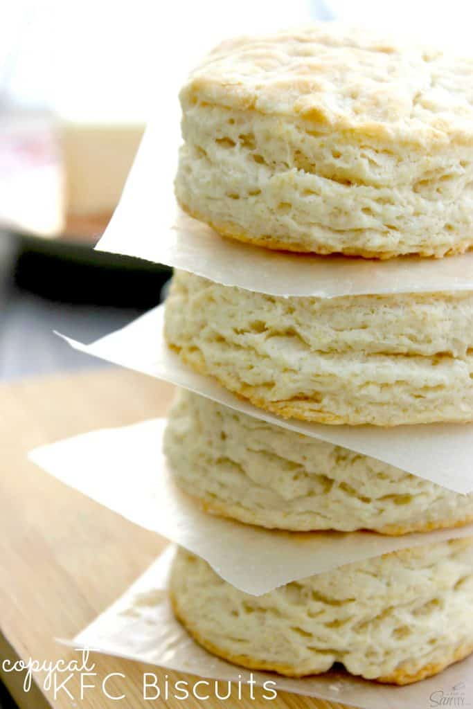 stack of biscuits