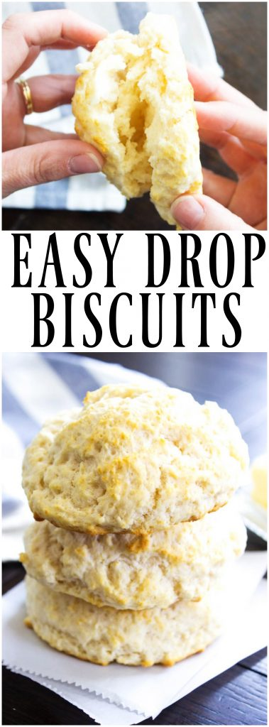 DROP BISCUIT RECIPE - A deliciously simple recipe for biscuits, serve morning, noon or night, either way these will be a hit.