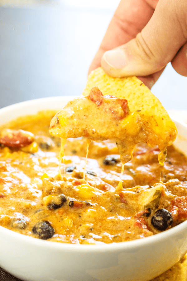 Slow Cooker Chili Cheese Dip A Dash Of Sanity