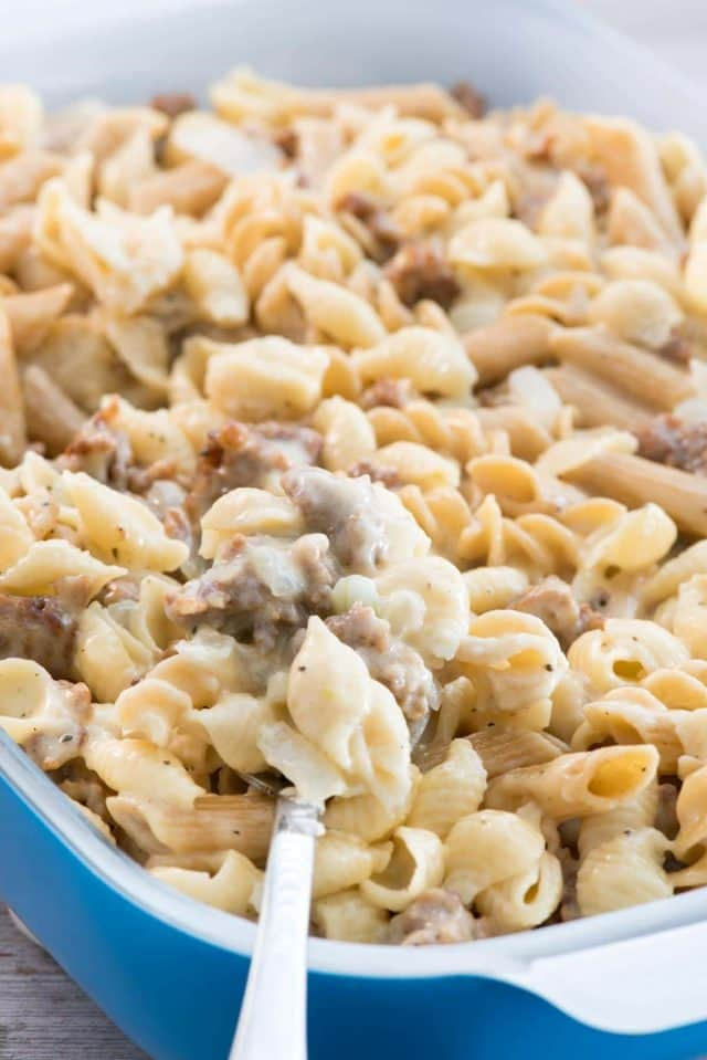 Sausage Macaroni and Cheese