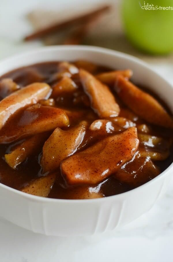 Crockpot Cinnamon Apples