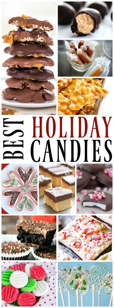 Looking for that special holiday treat? Spread joy with one of these 50 Best Holiday Candies.