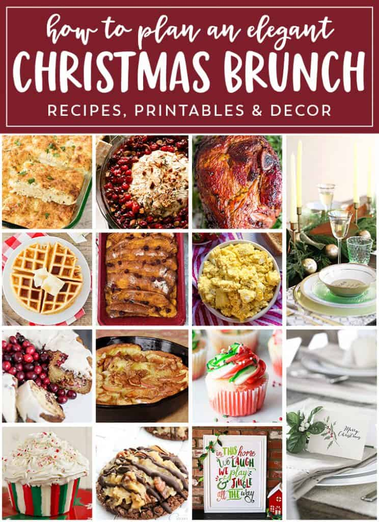 Make your CHRISTMAS EVE BRUNCH memorable with this insanely delicious menu and simple, yet very festive decor. Make this season merry & bright.