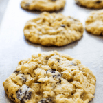 Best OATMEAL RAISIN COOKIES are soft and chewy, fully loaded with rolled oats and raisins. These cookies are just like what grandma used to make.