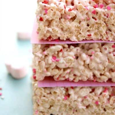 VALENTINE'S RICE KRISPIE TREATS