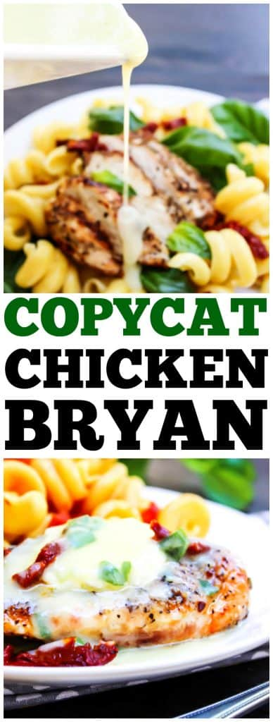 Chicken Bryan - Carrabba's recipe