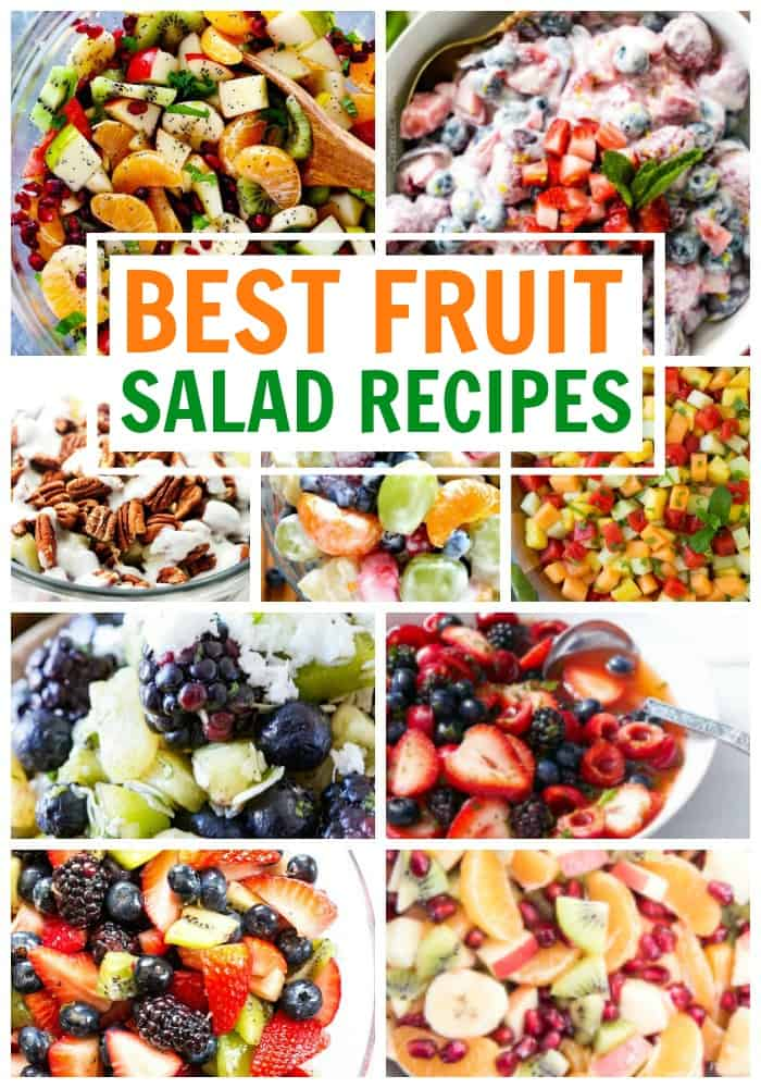 best fruit salad recipes that you can make this summer