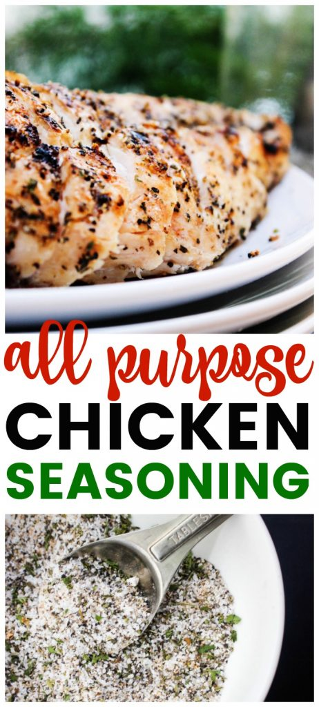 Whether you're grilling, baking, frying this All Purpose Chicken Seasoning made with a variety of spices adds the perfect amount of flavor.