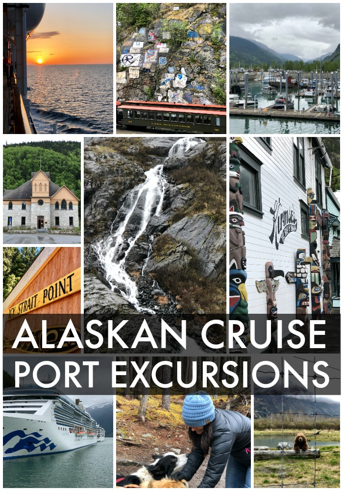 ALASKAN CRUISE PORT EXCURSIONS all the information you need to know to make the most out of your Alaskan cruise and what to do at each port.