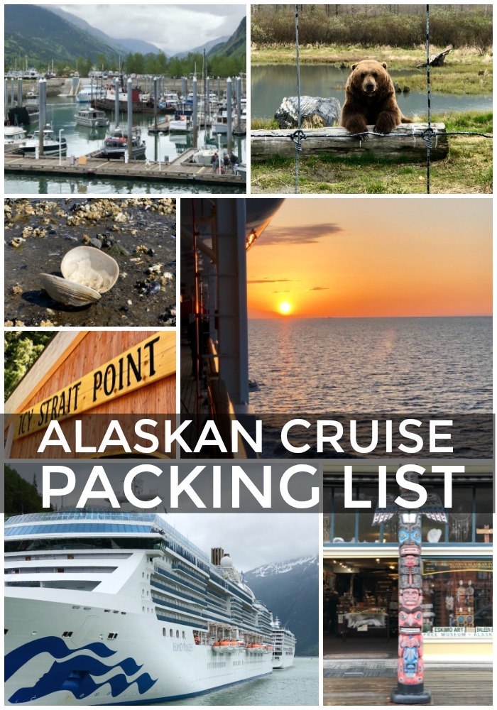 Everything you need to pack to cruise to Alaska. This the ultimate ALASKAN CRUISE PACKING LIST includes all the details and tips!