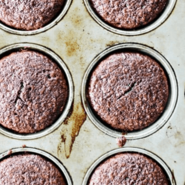 Double Chocolate Banana Quinoa Muffins