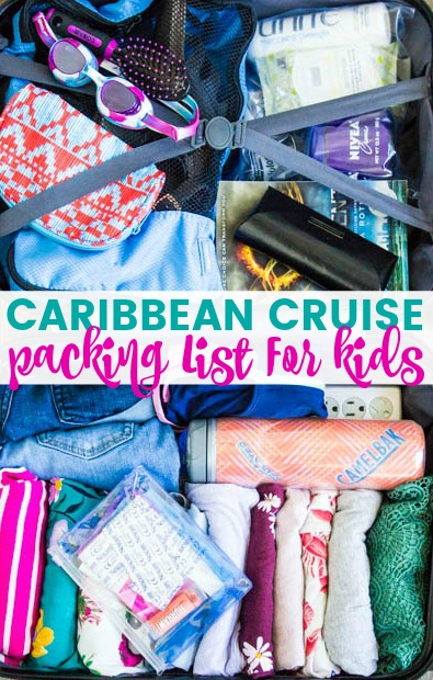 Western Caribbean Cruise Packing List For Kids - from all the must-haves to the little things that you don't need but may want, we have it covered. Get all the essentials to pack your kids for a Caribbean cruise.