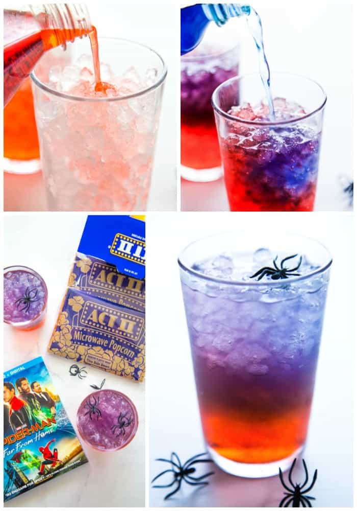 layered party punch step by step directions